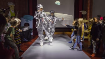 Rymden med Alfons Åberg - en resa till månen