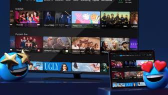 I disse dager oppgraderes brukeropplevelsen på alle de nyeste TV-boksene. Om ikke lenge vil også den eldre versjonen av TV-boksen og appene til Telenor T-We-kundene oppdateres med ny programvare.