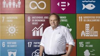 Forenede Services kvalitets- og miljøchef Nils Bjørn Larsen håber på at kunne tage den internationale pris med hjem til Søborg til oktober.