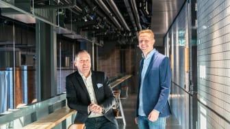 Mattias Djurson och Kjell Stördal