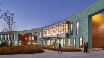 The New Holbrook School, which was planned and realized with Open BIM. Image courtesy of: Flansburgh Architects, Boston