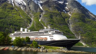 First of Fred. Olsen Cruise Lines' new ships, Borealis, joins rest of the fleet in Rosyth