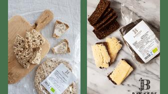 Alla Backers bröd är ekologiska och bakade för hand