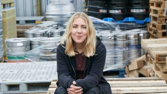 Bryggarmästare Hedda Spendrup brygger Stellalölen.