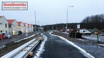 Skandinaviska Områdesskydd bygger bullerskydd åt Götenehus