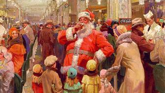Joulumainoskuva 1930