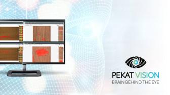 Pekat Vision är en industriell AI-baserad mjukvara för visuell kontroll och kvalitetsinspektion.