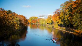 Förstudien ska kartlägga tänkbara platser för fiske och friluftsliv längs Rönne å och Ringsjöarna och ge underlag för hur naturturismen kan utvecklas i området. Foto: Ängelholms kommun