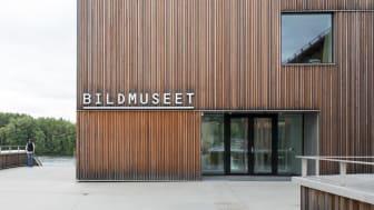 Bildmuseet och Curiosum är de publika verksamheterna på Umeå universitets konstnärliga campus vid Umeälven.