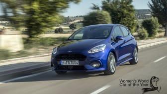 Az új Ford Fiesta a legokosabb kisautó kategóriagyőztes lett a 2017-es Női Év Autója szavazáson