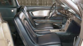 Edsel Ford II's 1965 Ford Mustang Fastback, innvendig