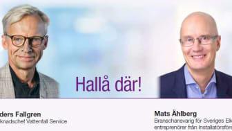 Anders Fallgren och Mats Ählberg
