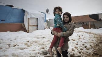 14 miljoner barn drabbade av konflikterna i Syrien och Irak
