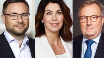 Mikael Edström, investment manager Partnerinvest Norr, Ingela Lidström, vd Partnerinvest Norr, Pierre Heeroma, Direktör för prospektering, strategi och affärsutveckling på LKAB