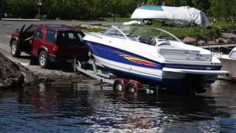 Ta båten med på bilsemester
