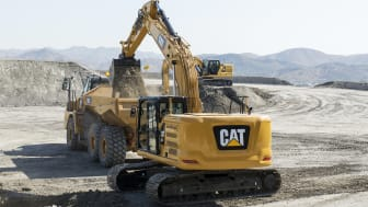 Lastning med CPM av Cat 320 Next Generation