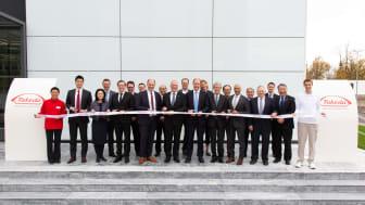 Feierliche Eröffnung der neuen Produktionsstätte für den Dengue-Impfstoffkandidaten von Takeda in Singen
