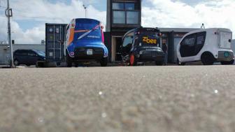 självkörande el-lastbilar
