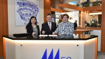 The agreement for a new Maritim Hotel in China was officially signed at the world's largest travel fair, the ITB 2019 in Berlin.