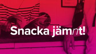 """""""Snacka Jämnt!"""" är ett nytt treårigt projekt där asylsökande ungdomar får möjlighet att prata sex, relationer och jämställdhet."""