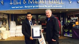 Bury Market wins top award from TripAdvisor