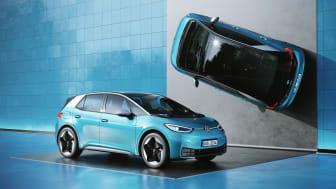 Volkswagen holder forpremiere på ID.3 i København fra den 13. til den 20. januar