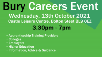 Bury Careers Event – come and discover your future