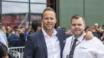 Anders Nilsen og Martin Risvik