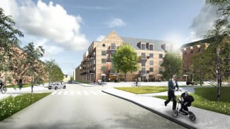 Bild: Umeå kommun, Illustration: Brunnberg & Forshed Arkitektkontor AB
