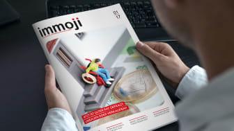 Das neue Immoji©-Journal: Relevante Themen, journalistisch aufbereitet und attraktiv verpackt. Für das On- und Offline-Marketing moderner Immobilienmakler