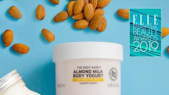 Almond Milk  Body Yogurt  -  vinnare i Elle International Beauty Awards 2019.