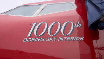 1000th Boeing Sky Interior