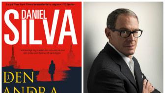 """Nu kommer hyllade nya thrillern """"Den andra kvinnan"""" av spionromanernas mästare Daniel Silva!"""