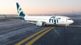 Flyr starter billettsalget i slutten av mai og første flyvning går til Tromsø 30. juni