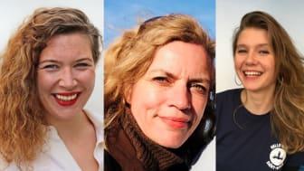 Silje Gjerp Solstad, Christina Neumann og Anja Grøner Krogstad starter i Sjømatrådet.