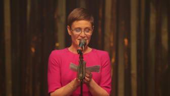 Årets Kvindelige Hovedrolle 2017 går til Marina Bouras, 'Ren', Husets Teater