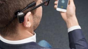 Baha® SoundArc med Baha 5 ljudprocessor och Baha Smart App