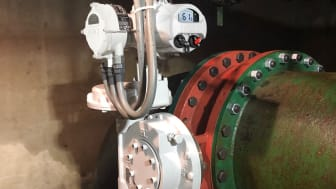 The Rotork IQ electric actuators with IW gearboxes are controlling the inlet and outlet flow of raw water at the Eugene Sawyer Water Filtration Plant sand filter.