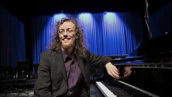 Martin Malmgren, pianist och student vid Kungl. Musikhögskolan (KMH). Foto: Riikka Kaakkurivaara.