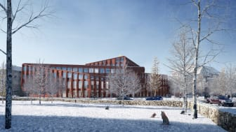 Torsdag 6 juli 2017 inleddes bygget av Kunskapshuset i Gällivare