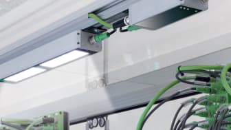 Anti-Glare LED Machine Lights with Integrated Lenses