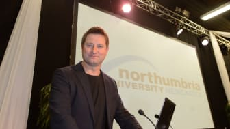 TV architect George Clarke speaks to a packed audience