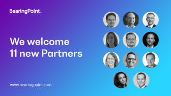 BearingPoint welcomes 11 new Partners