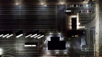 Titan och Modus vann upphandlingen - Belysning av ny terminalyta hos HallandsHamnar Halmstad AB