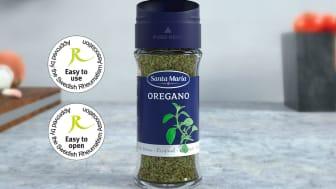 Santa Marias nya kryddförpackning godkänd av Reumatikerförbundet