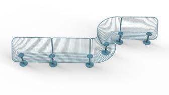 Korg möbelsystem, design Thomas Bernstrand. Utbyggbar i Korg planner.