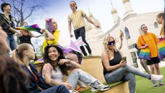 WorldPride och EuroGames äger rum i Malmö 12-22 augusti 2021. Foto: Andreas Paulsson