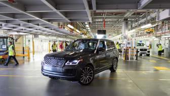 Jaguar Land Rover genåbner produktionen i England