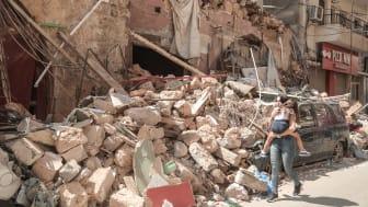 Zahlreiche Kinder und Jugendliche haben durch die verheerende Explosion in der libanesischen Hauptstadt Beirut schwere Traumata erlitten. Foto: Ali Itani