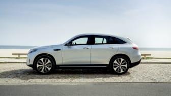 Svenska priser klara för eldrivna Mercedes-Benz EQC